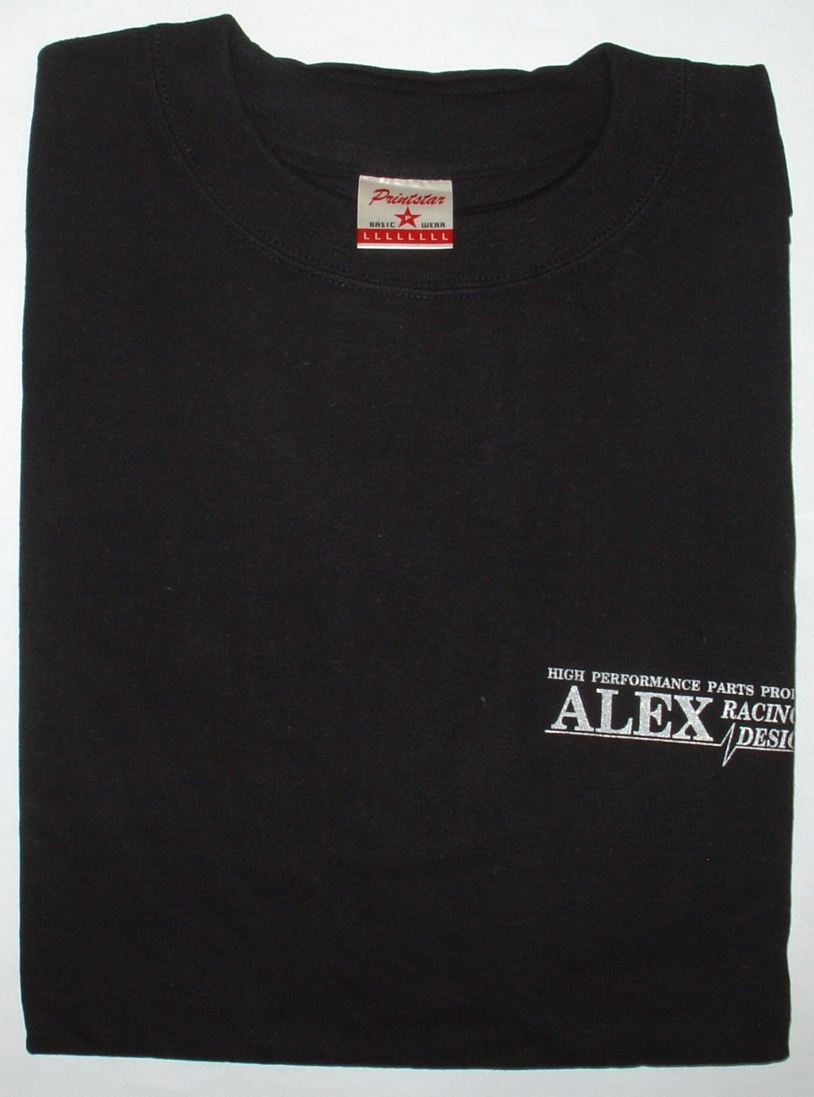 Alex Racing Design B-1010BK - ARD T-Shirt Black L-Size