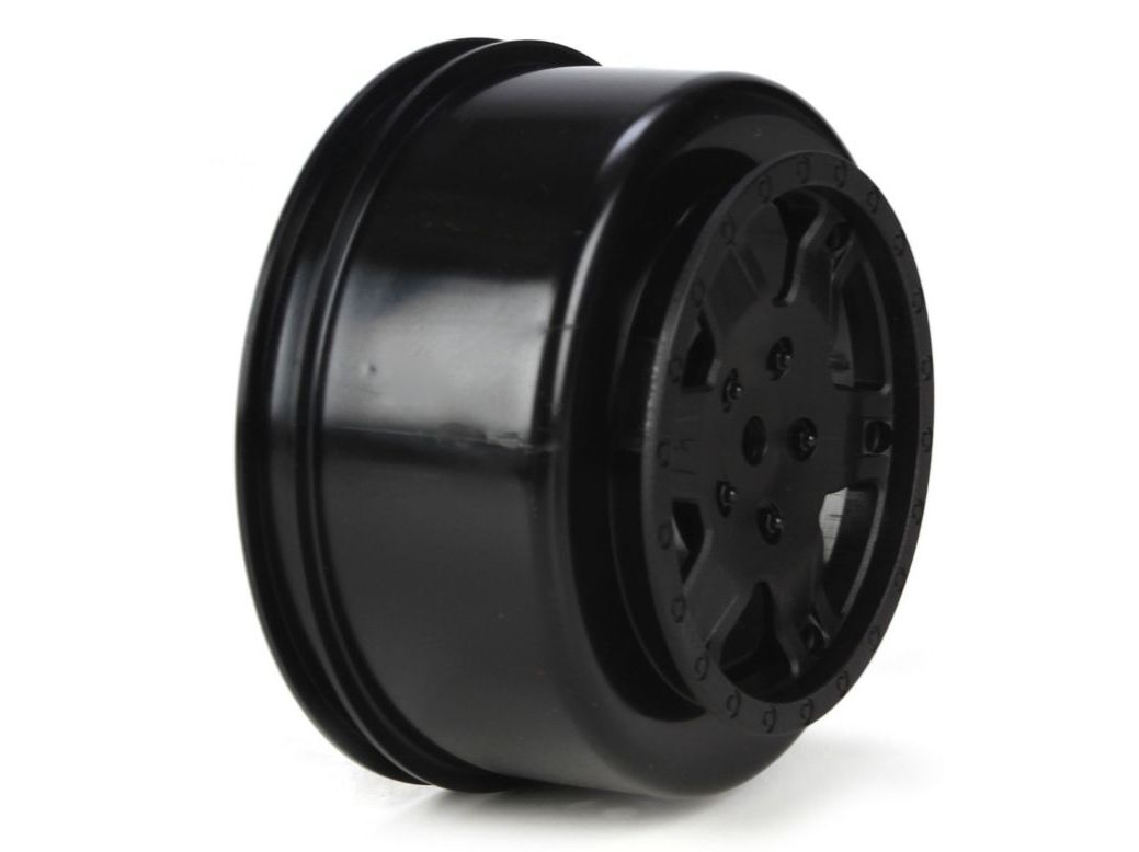 TLR 7011 - Wheel, Black (22SCT)