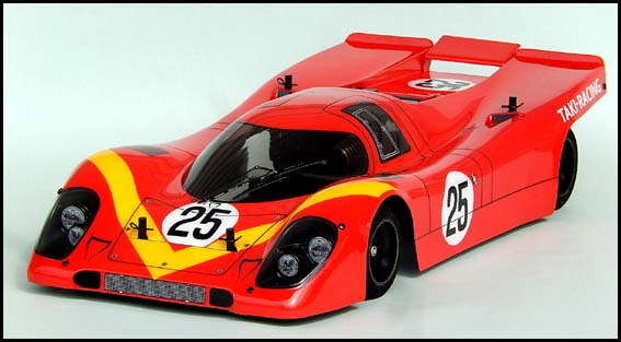 Chevron FSL038 -LMP-70 Clear Body (Tamiya F103RM / C-Class / 200mm W-GT / F104W)