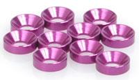 Schumacher U2988 - Speed Pack - M3 Csk Washers - Purple Alloy