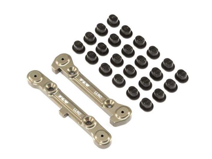 TLR 344010 - LLRC Adjustable Rear Hinge Pin Brace Set (8/8T 4.0)