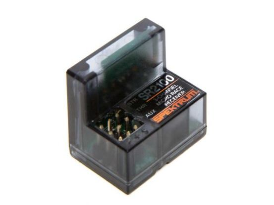 Spektrum SPMSR2100 - SR2100 DSMR Micro Race Rx Antenna-Less