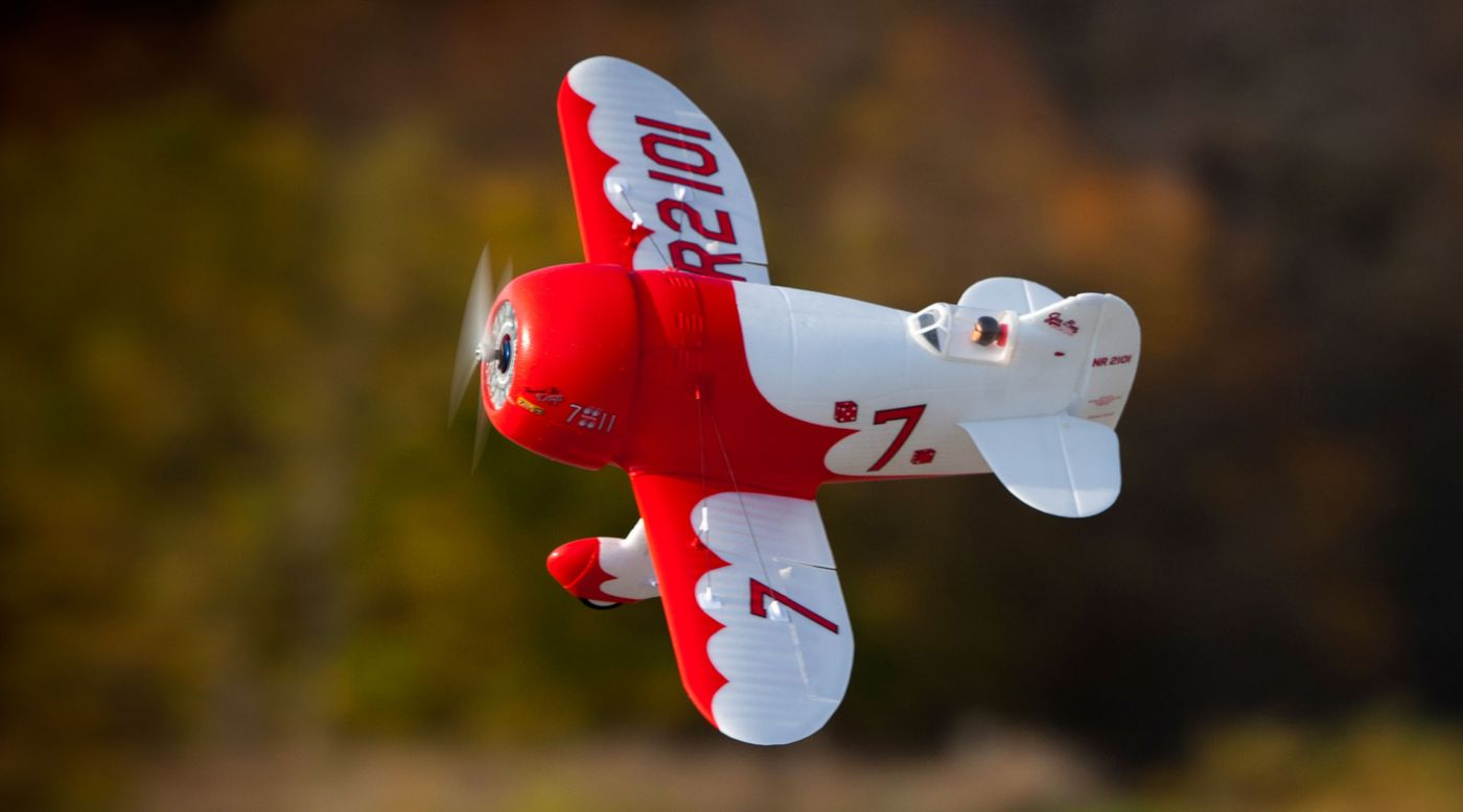E-flite EFLU6150 - UMX Gee Bee R-2 BNF Basic with AS3X and SAFE Select
