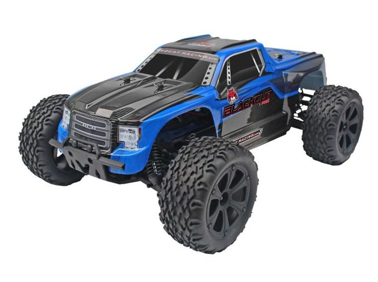 RedCat RER07013 - 1/10 Blackout XTE Pro 4WD Monster Truck Brushless RTR, Blue