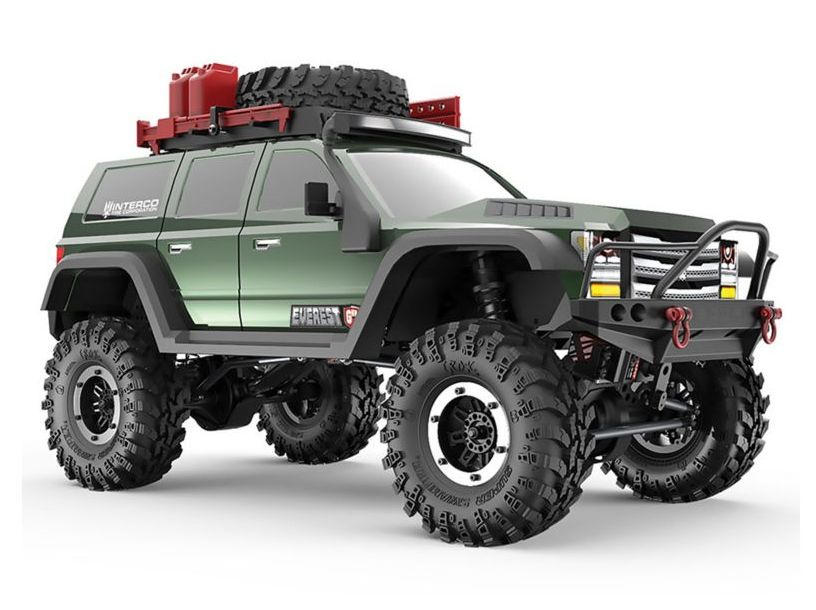 RedCat RER09588 - 1/10 Everest Gen7 Pro 4WD Crawler Brushed RTR, Green