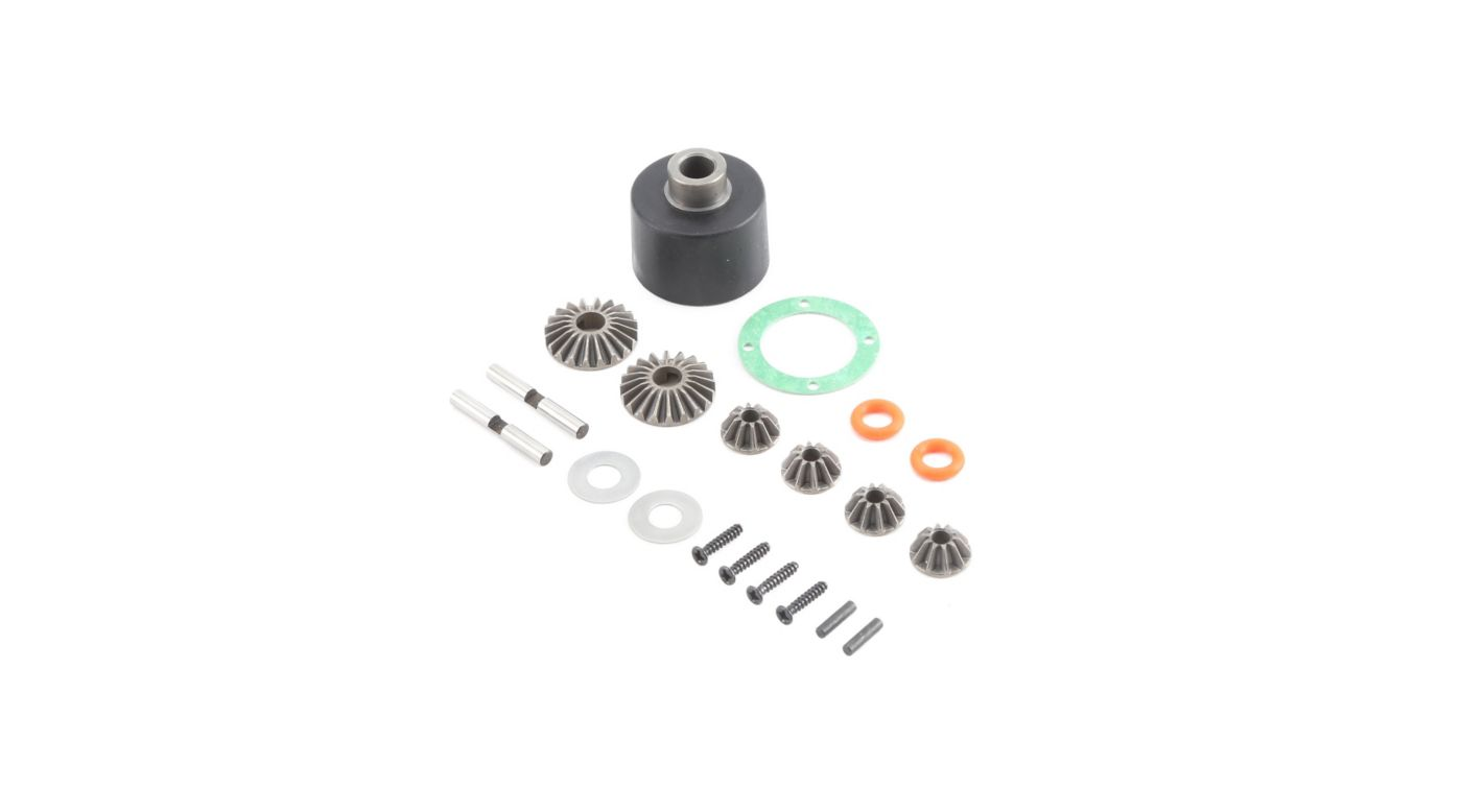 Losi LOS232004 - HD Diff Housing and Internals (Baja Rey)