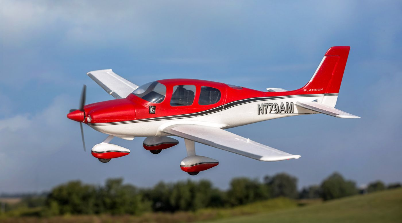 E-flite EFLU5950 - UMX Cirrus SR22T BNF Basic with AS3X and SAFE Select
