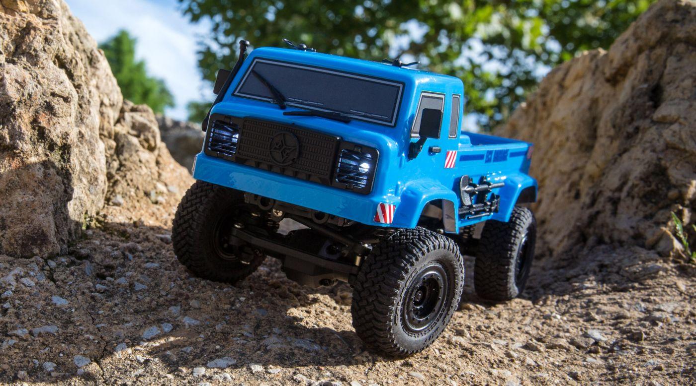 ECX ECX00019T1 - 1/24 Barrage UV 4WD Scaler Crawler RTR, Blue