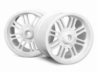 HPI 3135 - 8 Spoke Wheel White 83x56mm 2pcs