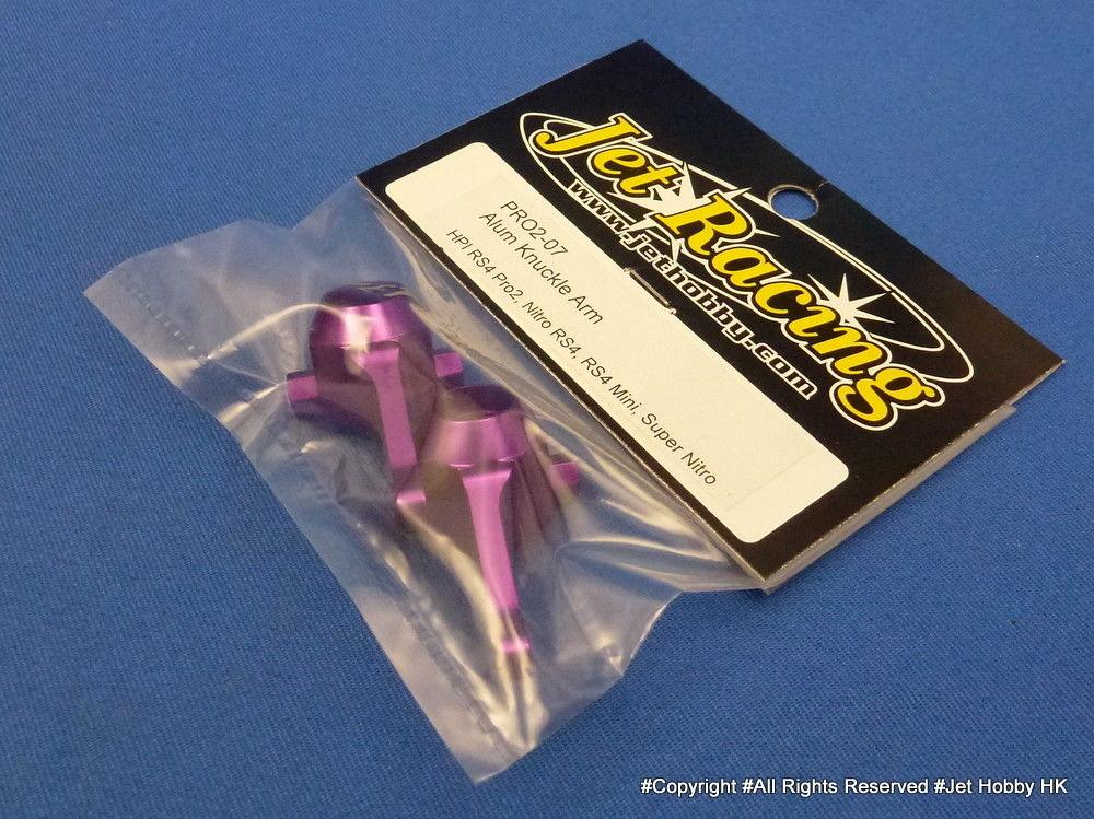 Jet Racing PRO2-07 - Alum Knuckle Arm (HPI RS4 Pro2, Nitro RS4, RS4 Mini, Super Nitro)