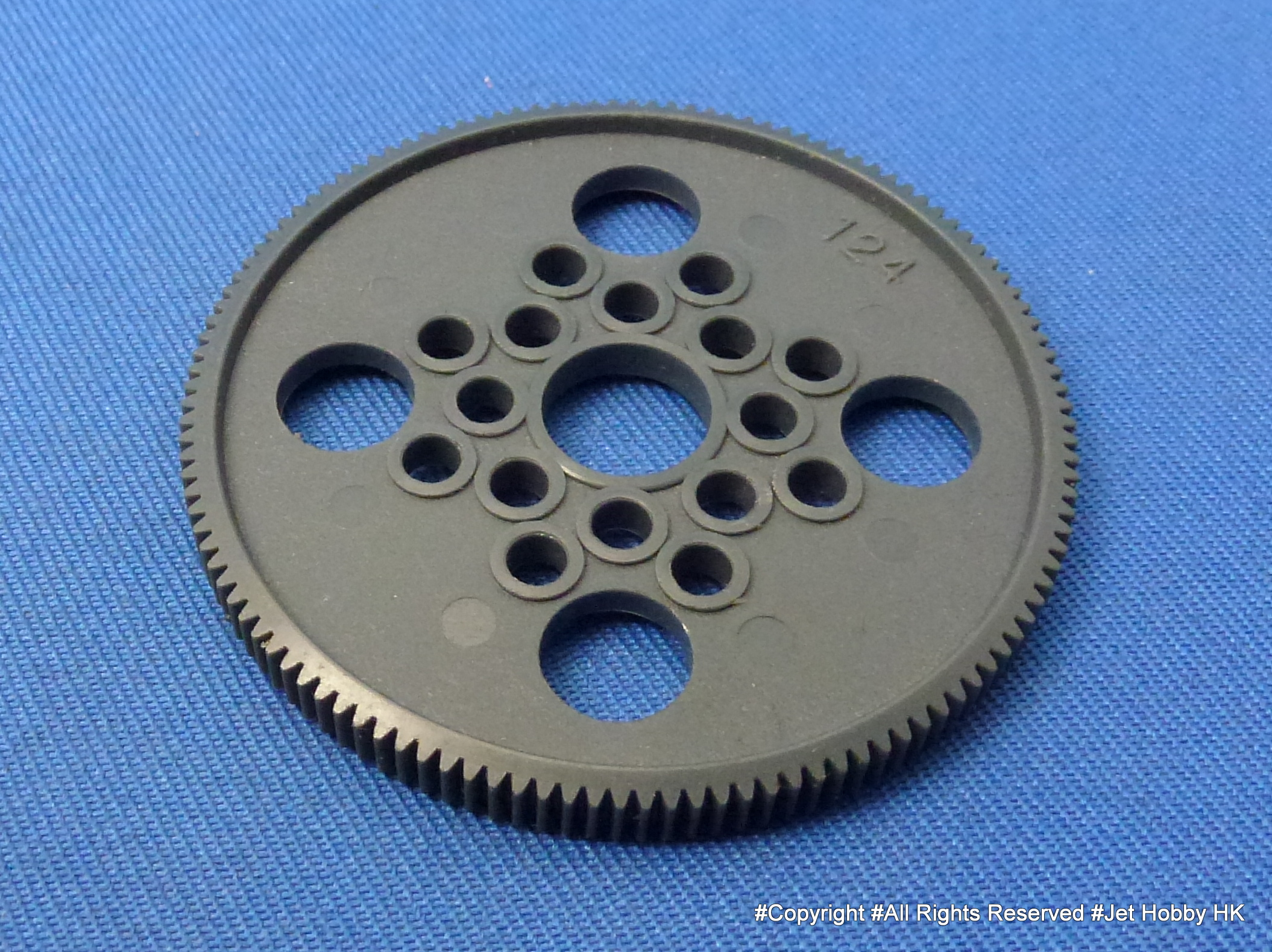 Hong Nor ES-51 - Spur Gear 64 Pitch 124T