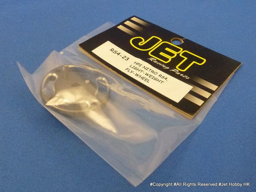 Jet Racing RS4-23 - Lightweight Flywheel (HPI Nitro RS4)