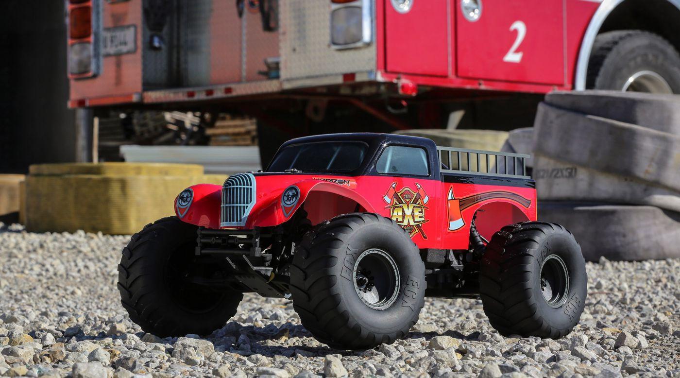 ECX 03056 - 1/10 Axe 2WD Monster Truck RTR
