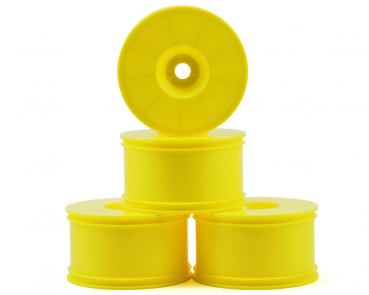 Hot Bodies 67816 -  D8T HB T-Dish Wheels (Yellow) (4)