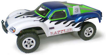 Parma 10230 - Rattler For Traxxas 1:16 Slash - Clear Body