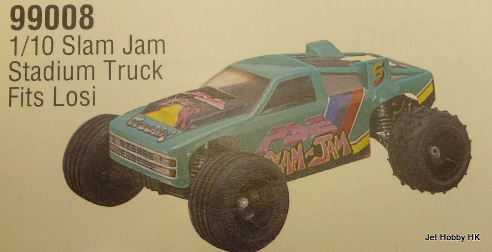 Parma 99008 - 1/10 Slam Jam Stadium Truck Clear Body for Losi