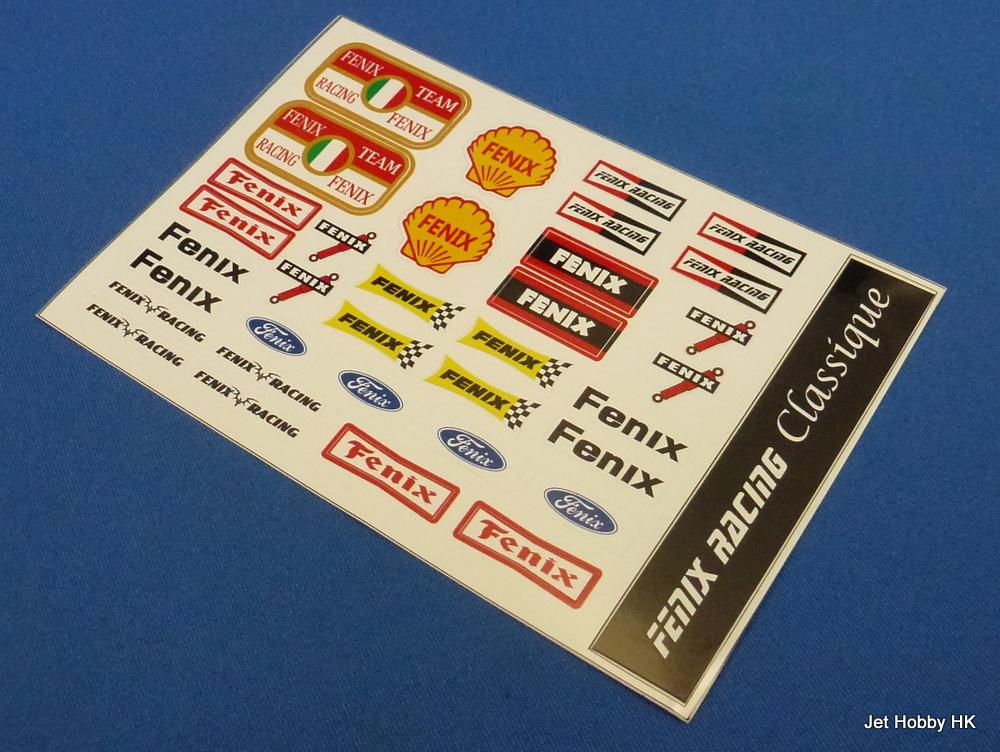 Fenix S-F1 - Fenix F1 Classique Sticker