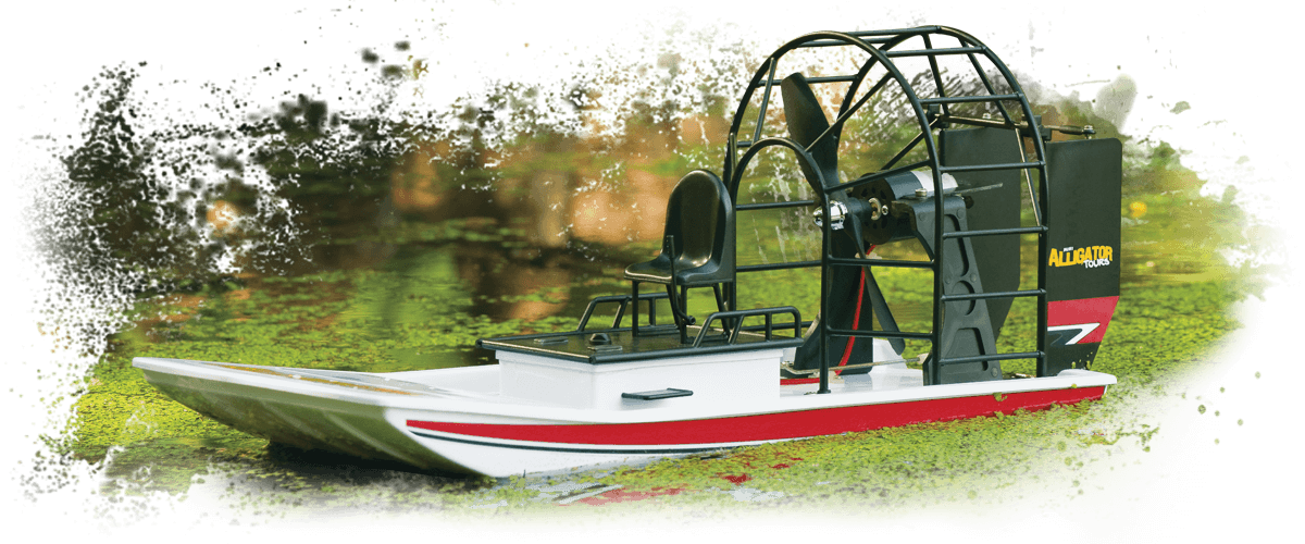 AquaCraft AQUB1807 - Mini Alligator Tours Airboat RTR