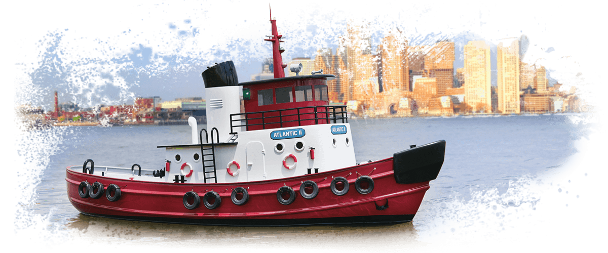 AquaCraft AQUB5726 - Atlantic II Harbor Tug RTR