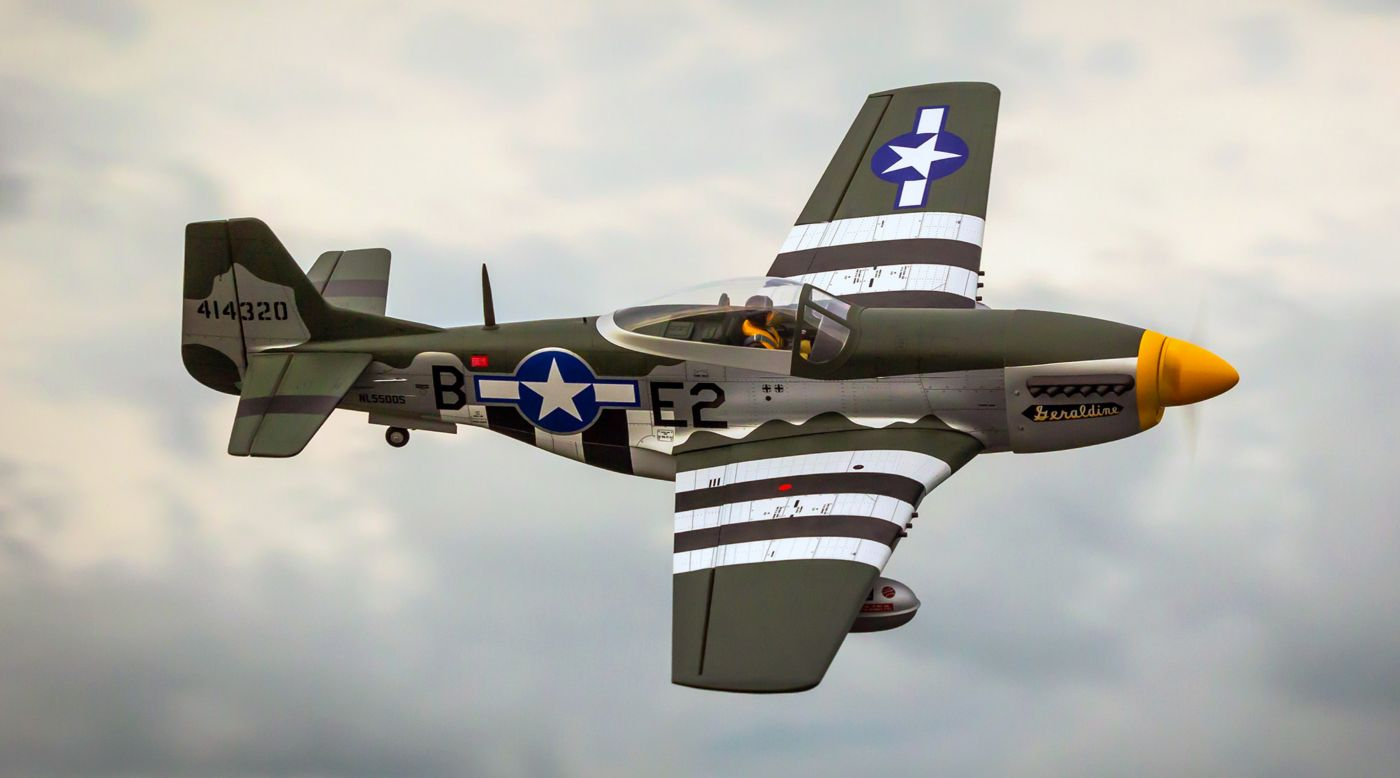 Hanger 9 HAN2820 - P-51D Mustang 20cc ARF 69.5