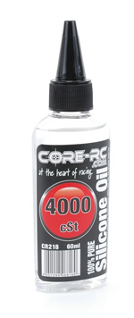 Core CR218 - CORE RC Silicone Oil - 4000cSt - 60ml
