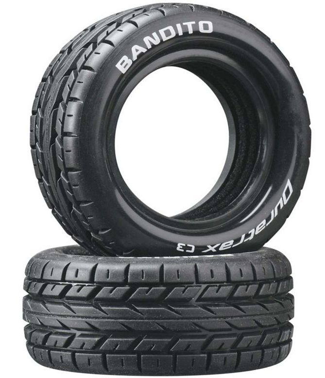 Duratrax DTXC3973 - Bandito 1/10 Buggy Tires Front 4WD C3