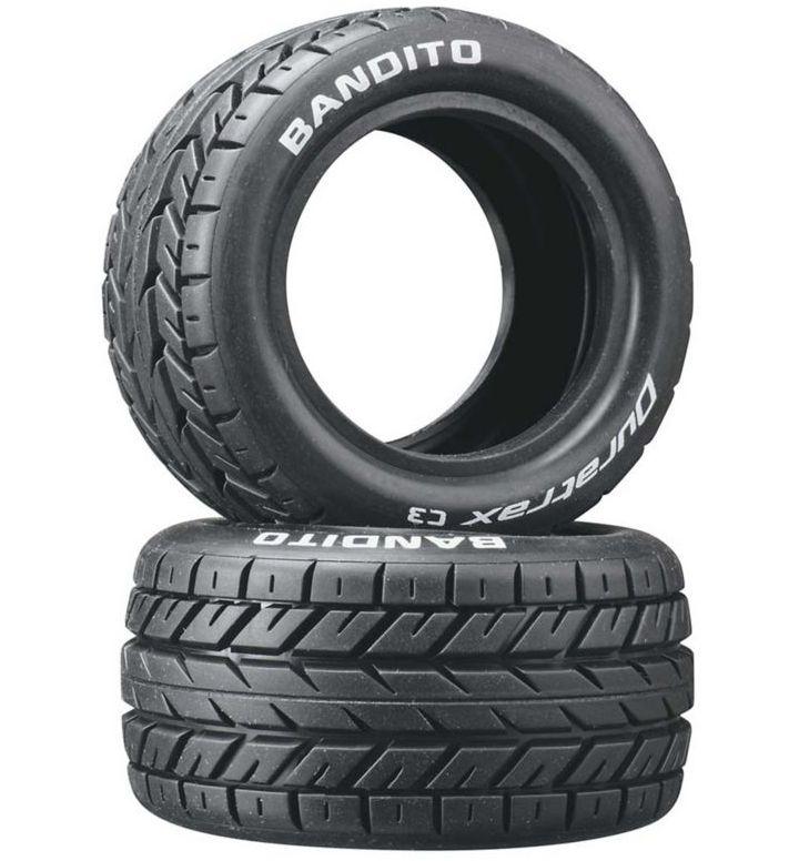 Duratrax DTXC3976 - Bandito 1/10 Buggy Tires Rear 4WD C3