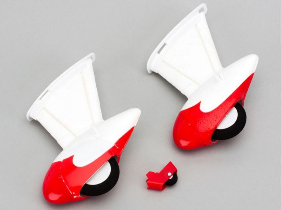 E-flite EFLU4555 - Landing Gear and Tail Wheel Set (UMX Gee Bee R2)