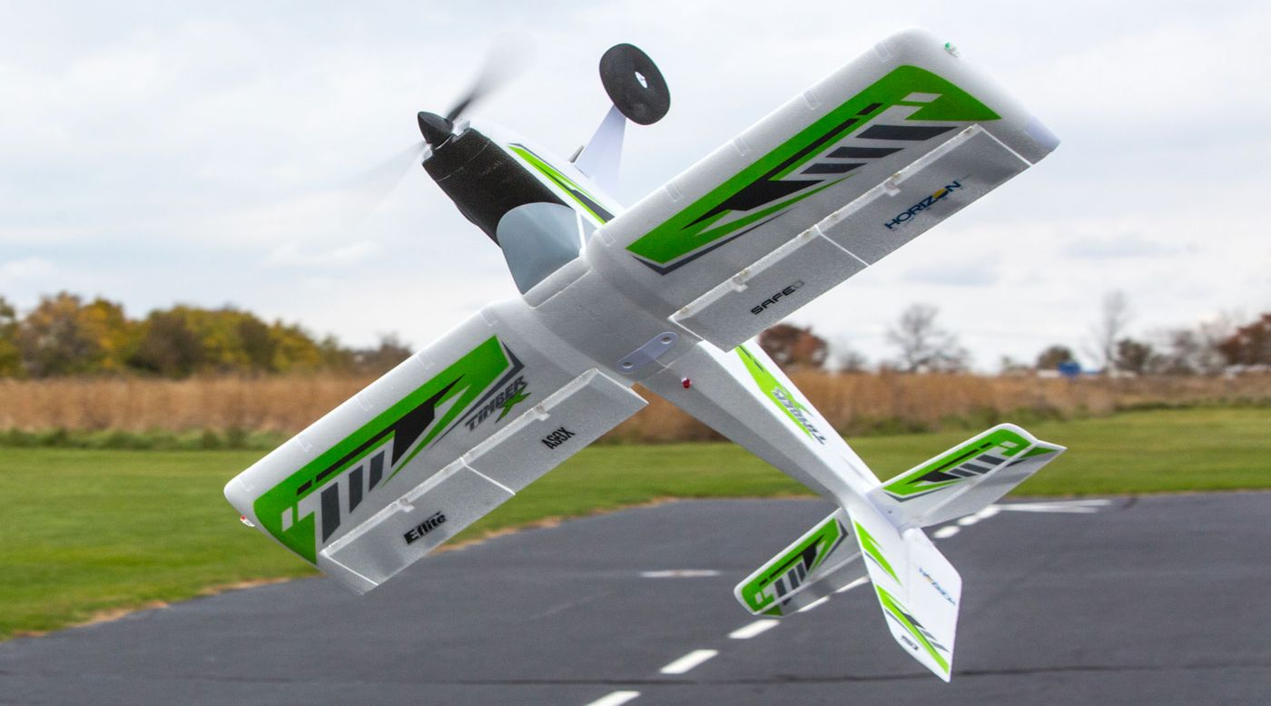 E-flite EFL3850 - Timber X 1.2m BNF Basic with AS3X and SAFE Select