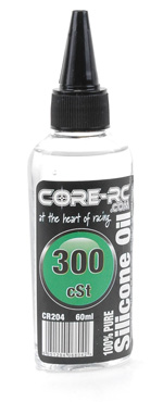 Core CR204 - 	CORE RC Silicone Oil - 300cSt - 60ml