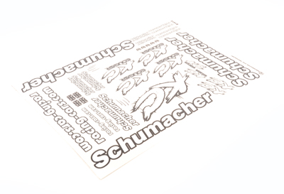 Schumacher U7450 - Decal Sheet - KC