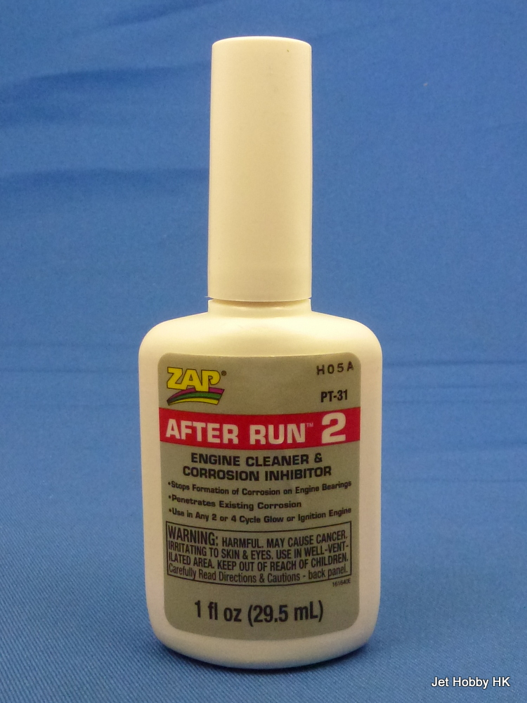 Zap PT-31 - After Run 2 (Engine Cleaner & Corrosion Inhibitor)