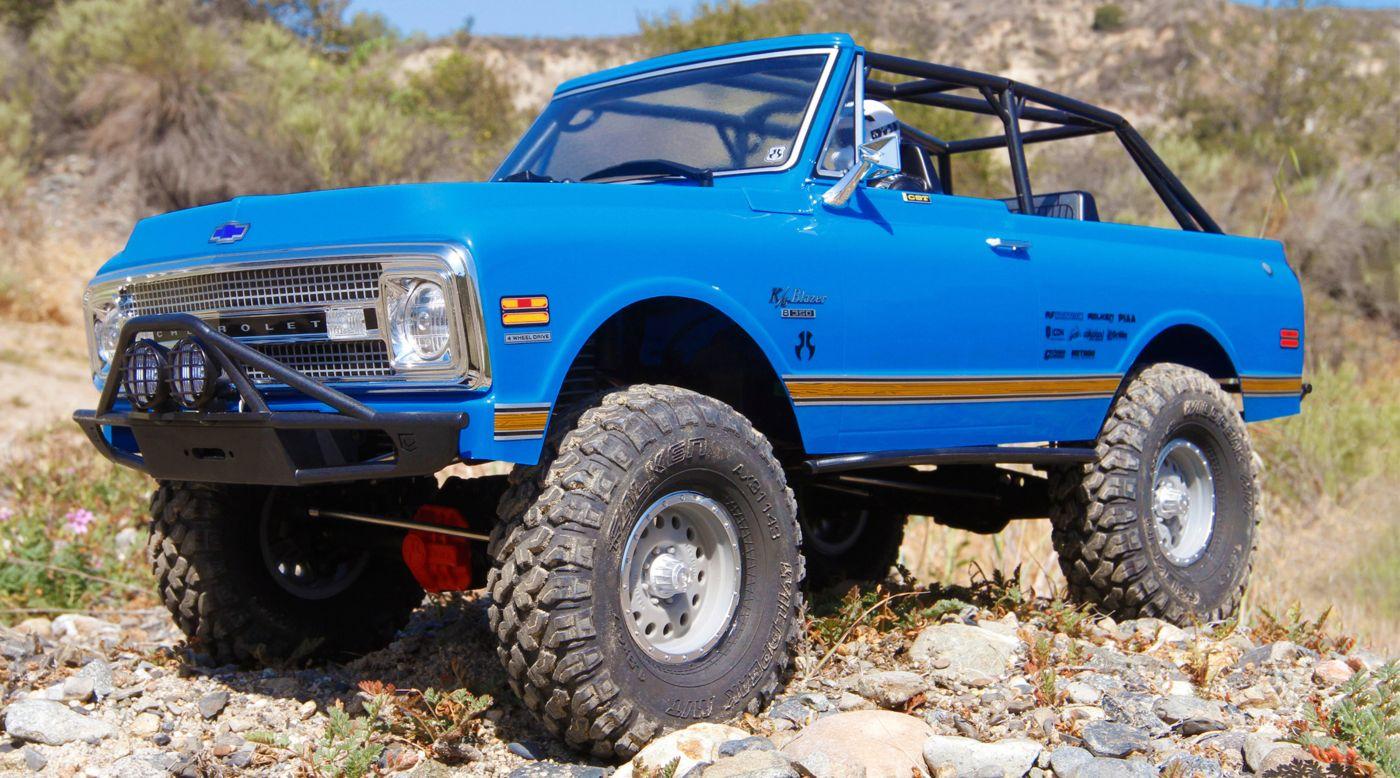 Axial AXID9058 - 1/10 SCX10 II '69 Chevrolet Blazer 4WD RTR