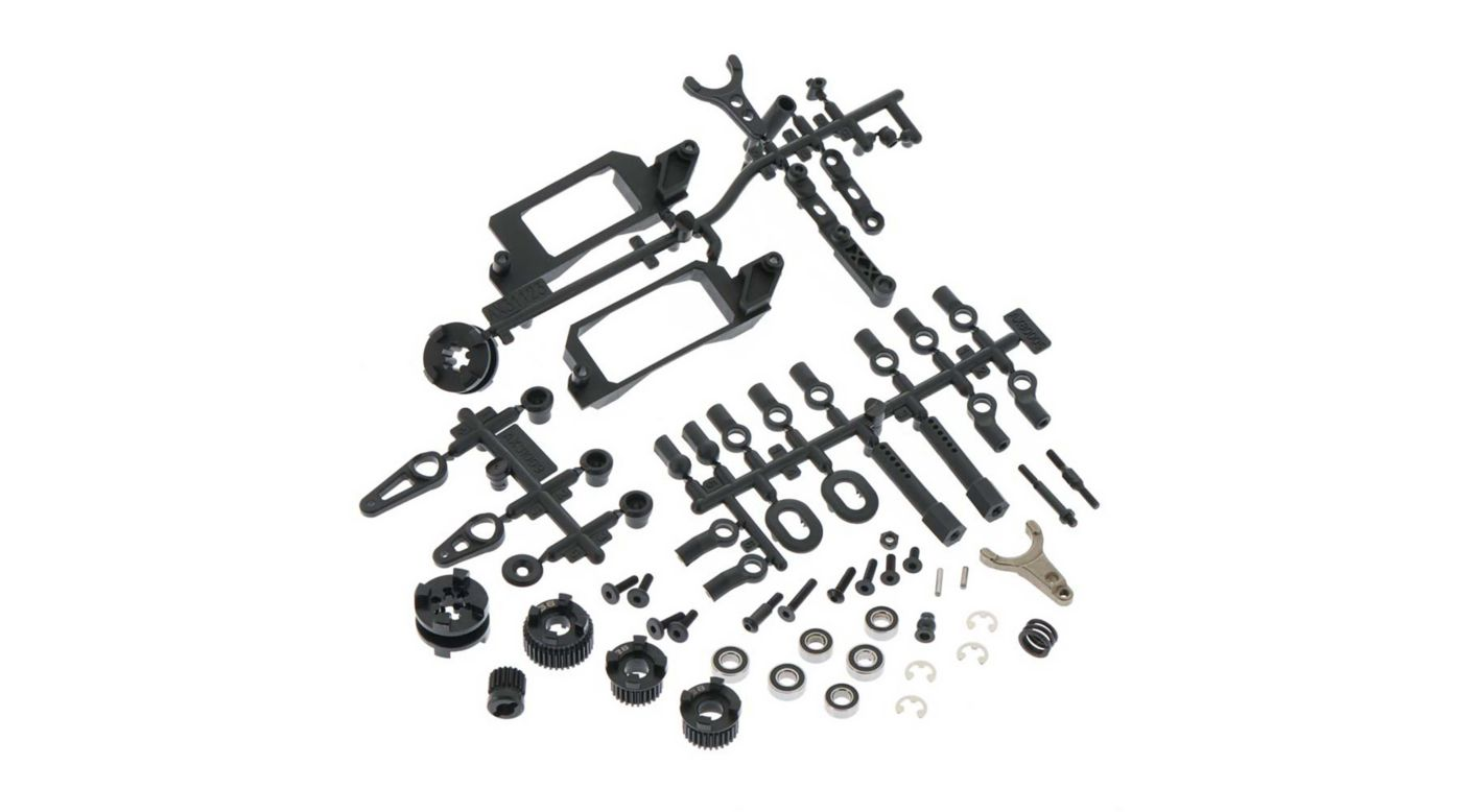 Axial AXIC0999 - Yeti Transmission 2 Speed Hi Lo Components (AX31181)