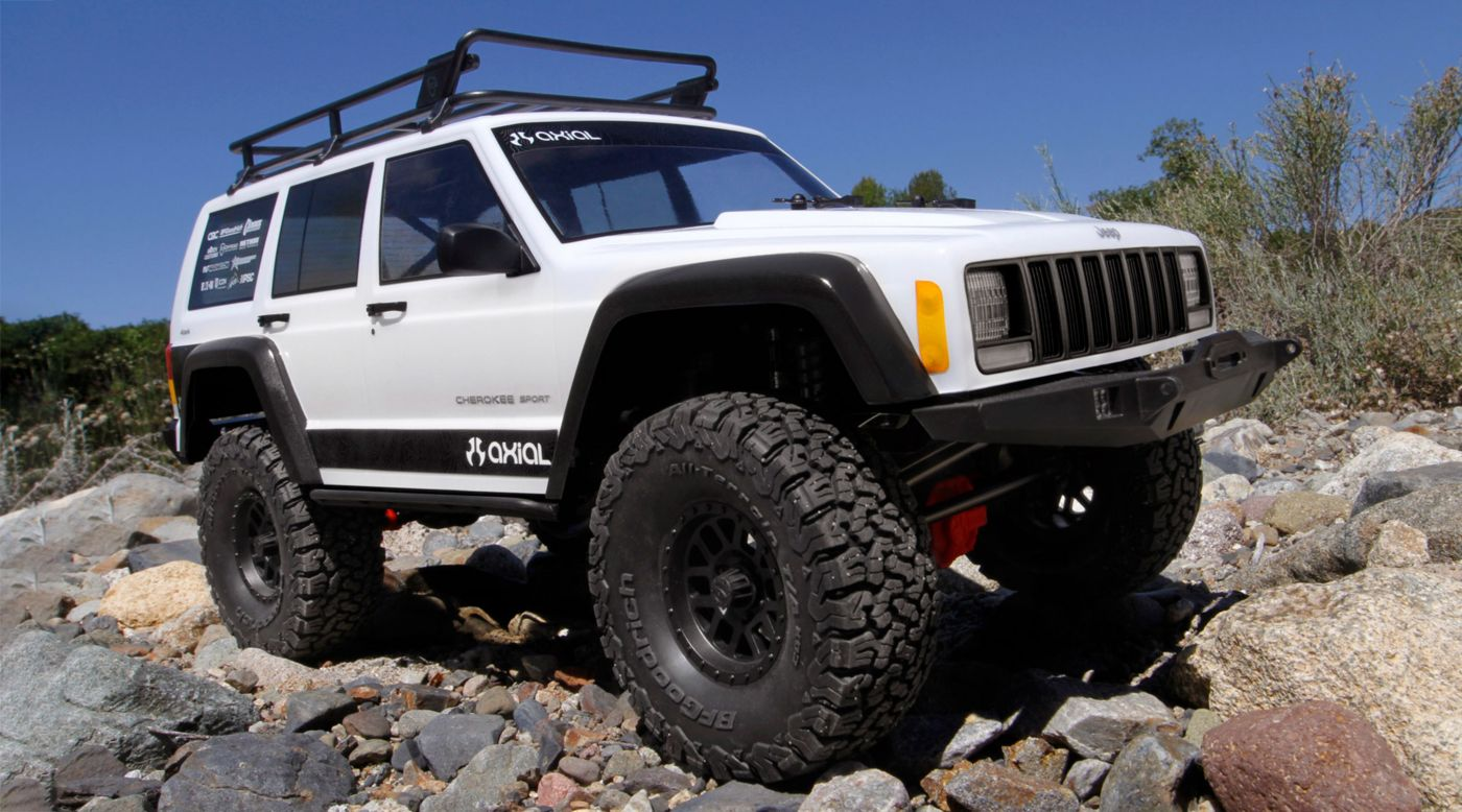 Axial AXIC9046 - 1/10 SCX10 II Jeep Cherokee Rock Crawler 4WD Kit