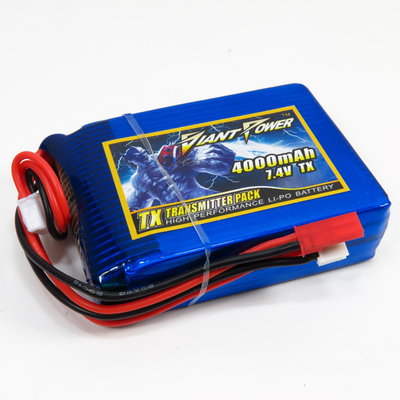 Giant 4000-2S-TX - Lipo Battery 4000mAh 7.4V Transmitter Pack (Spektrum DX8)
