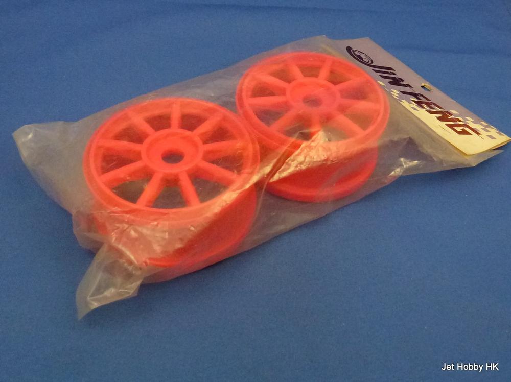 Jin Feng - 1:8 Buggy Wheel, 17mm Hex Hub