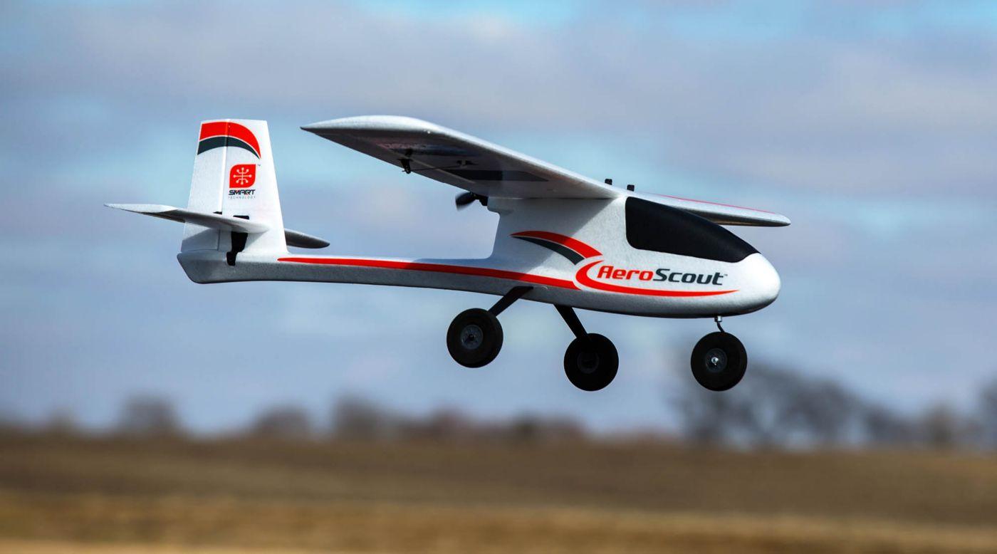 Hobbyzone HBZ3850 - AeroScout S 1.1m BNF Basic