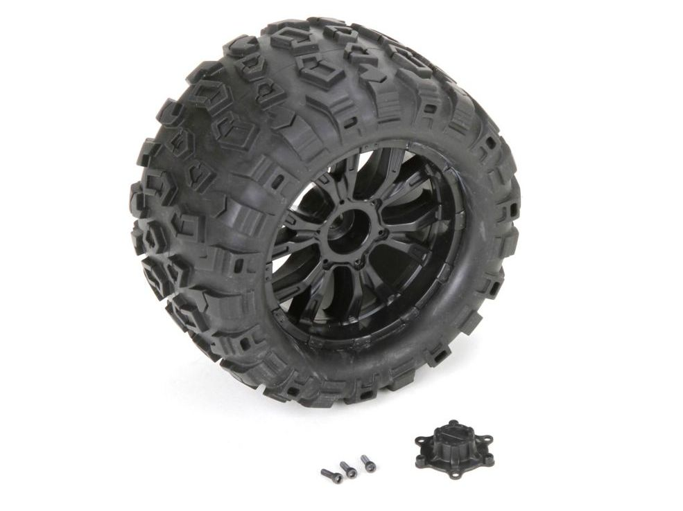 Losi LOS43010 - Wheel and Tire Mounted (TEN MT)