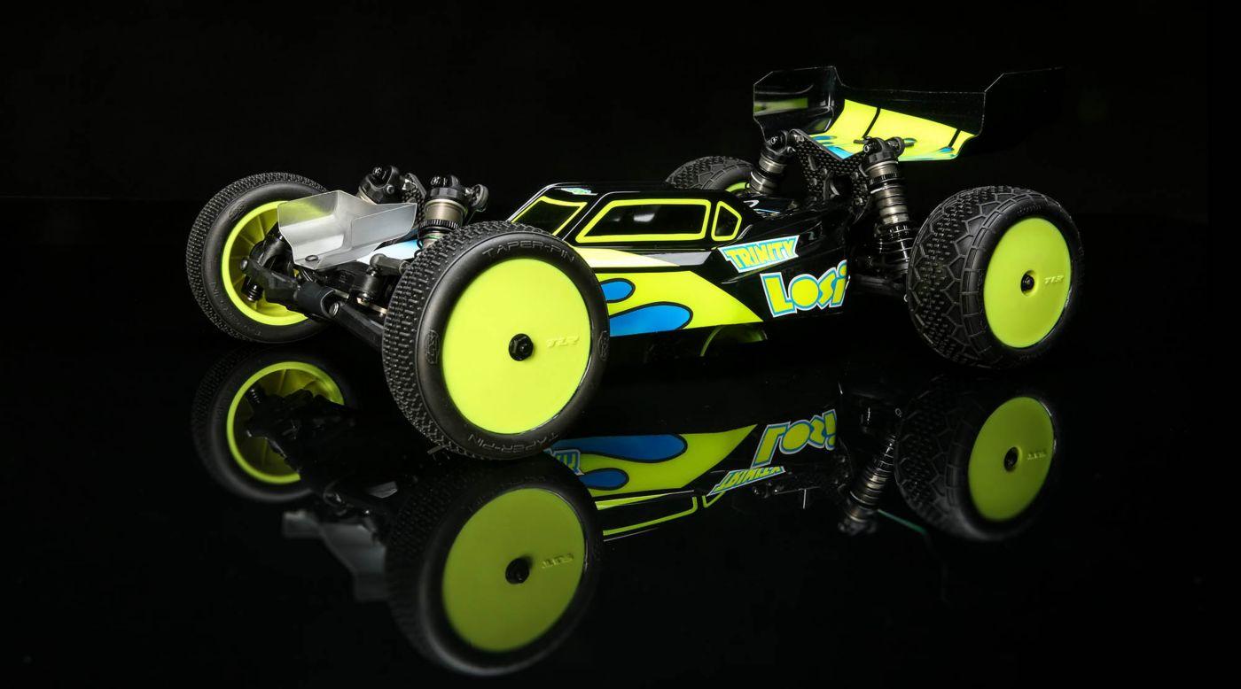 TLR TLR03022 - 1/10 22 5.0 2WD DC ELITE Race Kit, Dirt/Clay