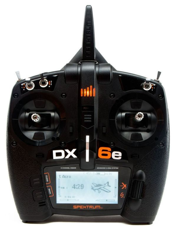Spektrum SPMR6655 - DX6e 6-Channel DSMX Transmitter Only