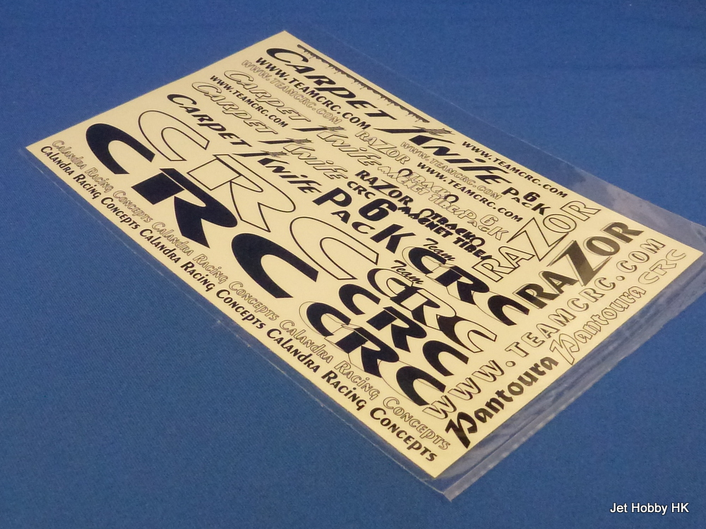 CRC Carpet Decal Sheet