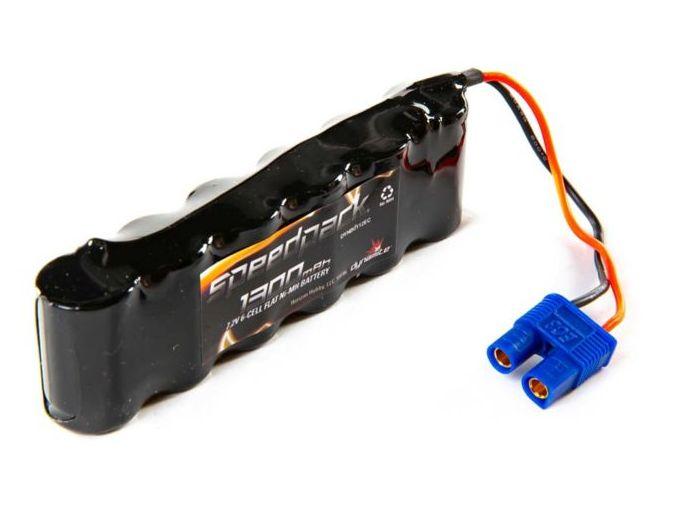 Dynamite DYNB0112EC - 7.2V 1300mAh NiMH 6-Cell 2/3A Flat battery: EC3