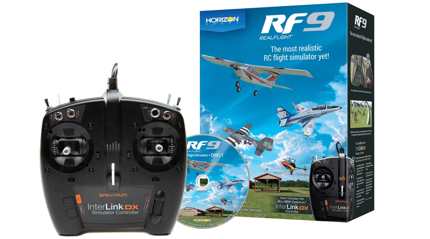 RealFlight RFL1100 - RF9 Flight Simulator with Spektrum Controller