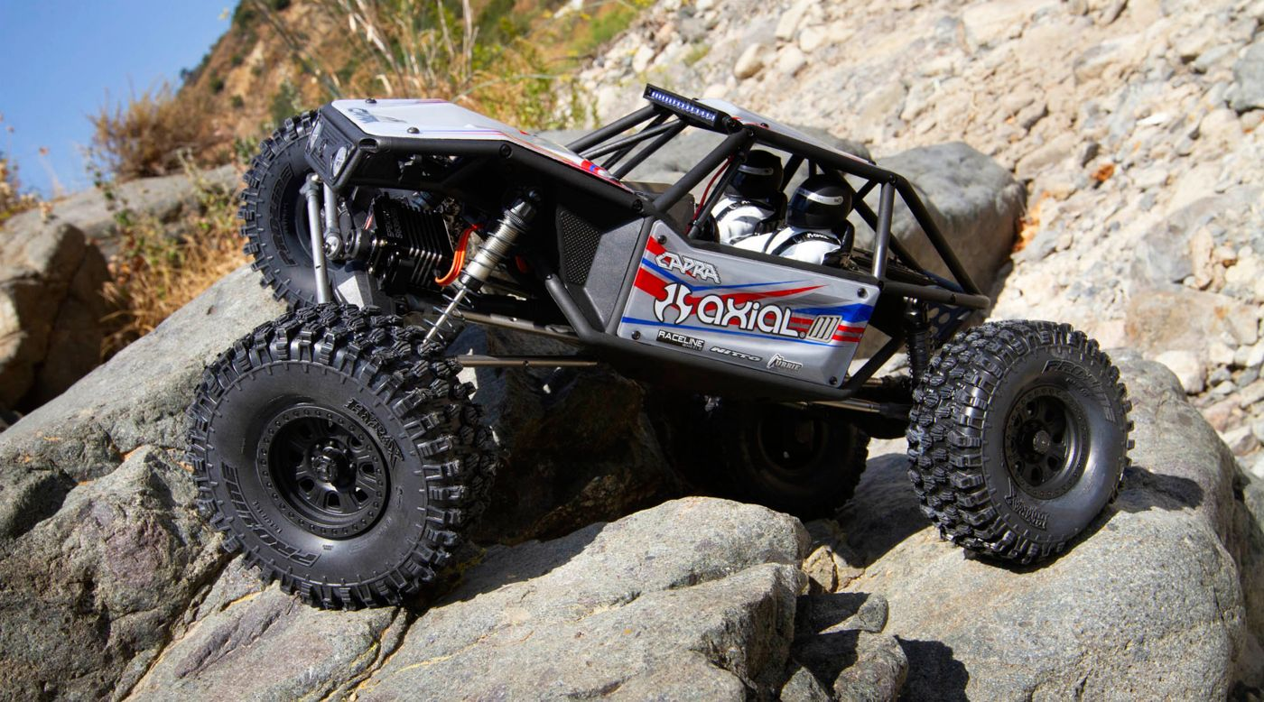Axial AXI03004 - 1/10 Capra 1.9 Unlimited Trail 4WD Buggy Kit