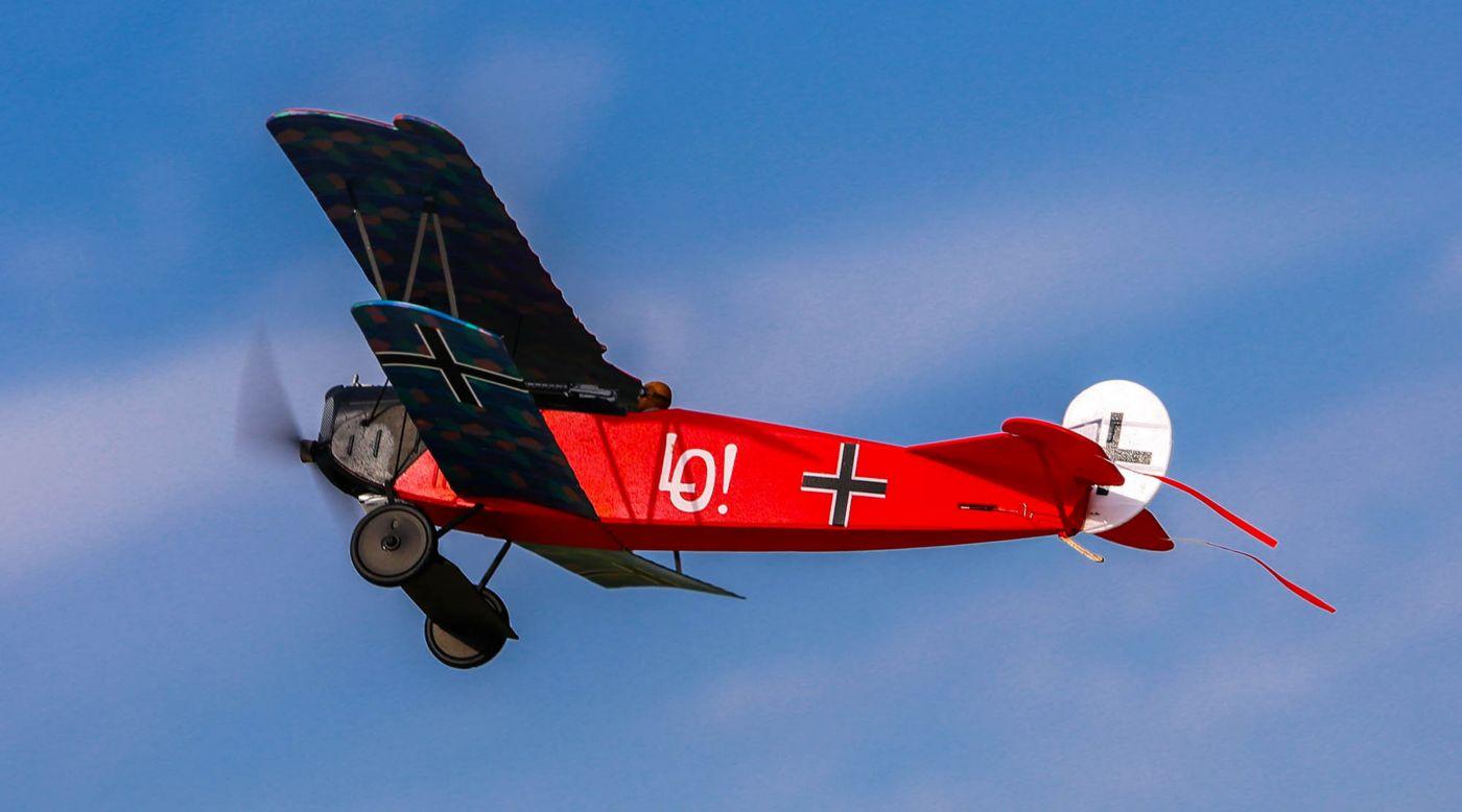 Flyzone FLZU1000 - Fokker D.VII Micro EP RTF
