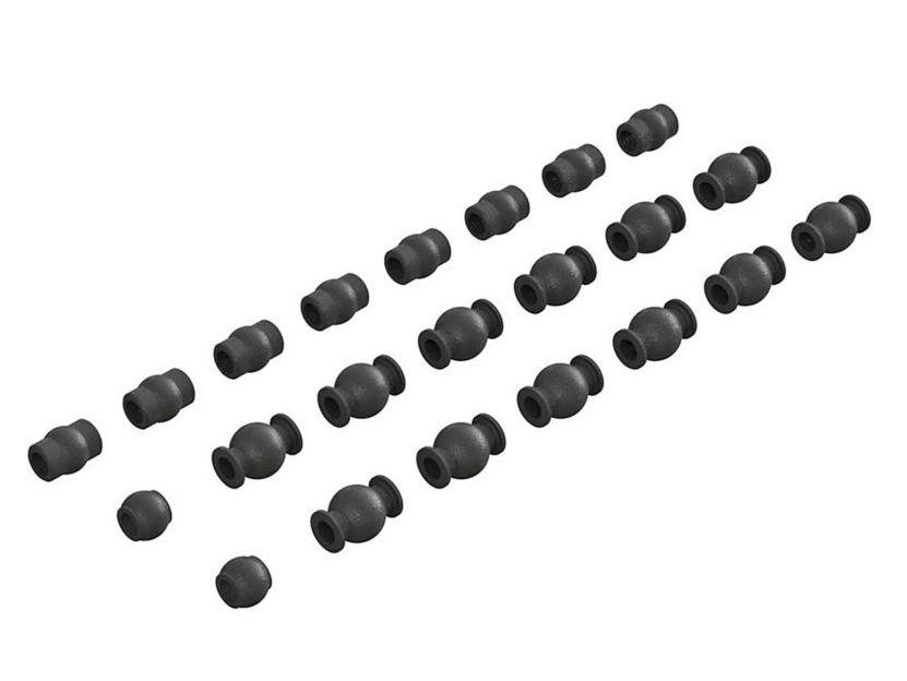 Arrma ARAC3851 - Composite Pivot Ball: 4x4 775 BLX 4S (AR330518)