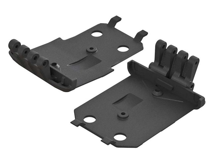 Arrma ARAC9260 - F/R Lower Skidplate (2): 4x4 Granite MEGA (AR320401)