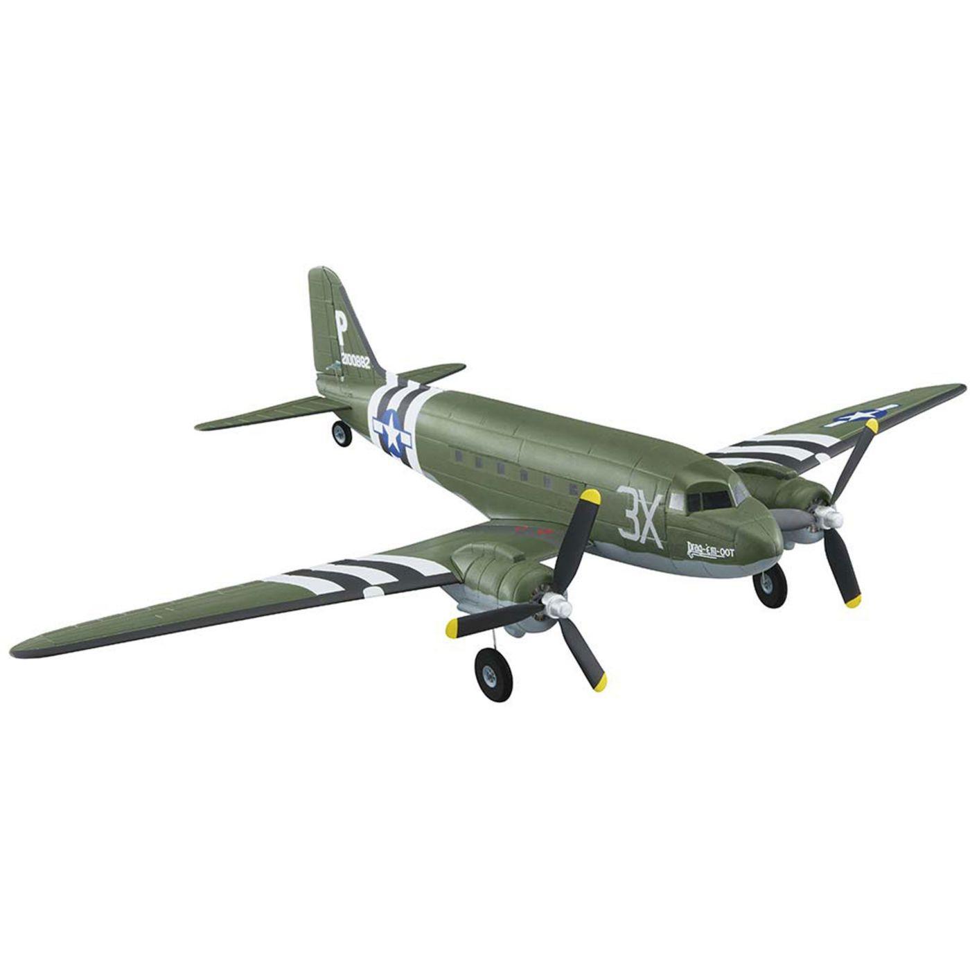 Flyzone FLZA2430 - Micro Douglas C-47 Skytrain EP RTF, 23