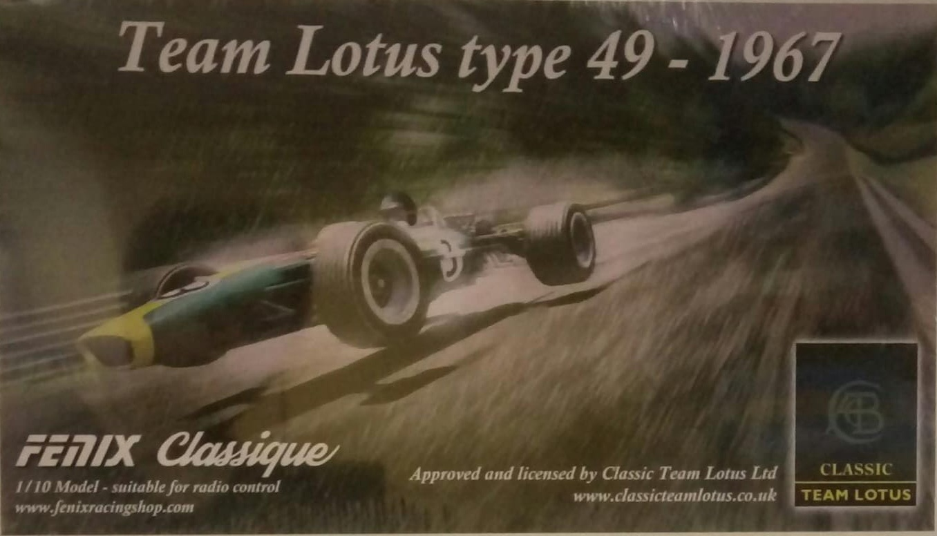 Fenix CLA006 - Classic F1 Kit, Team Lotus 49 Body, Gear Diff